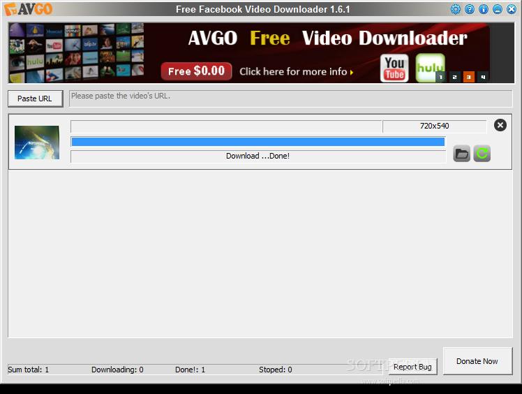free facebook video downloader windows 7