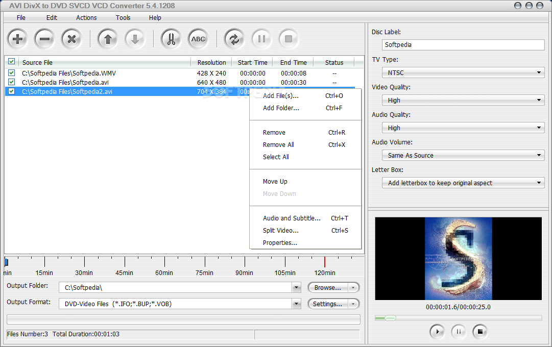Convert VCD to MP4, free download VCD to MP4 converter