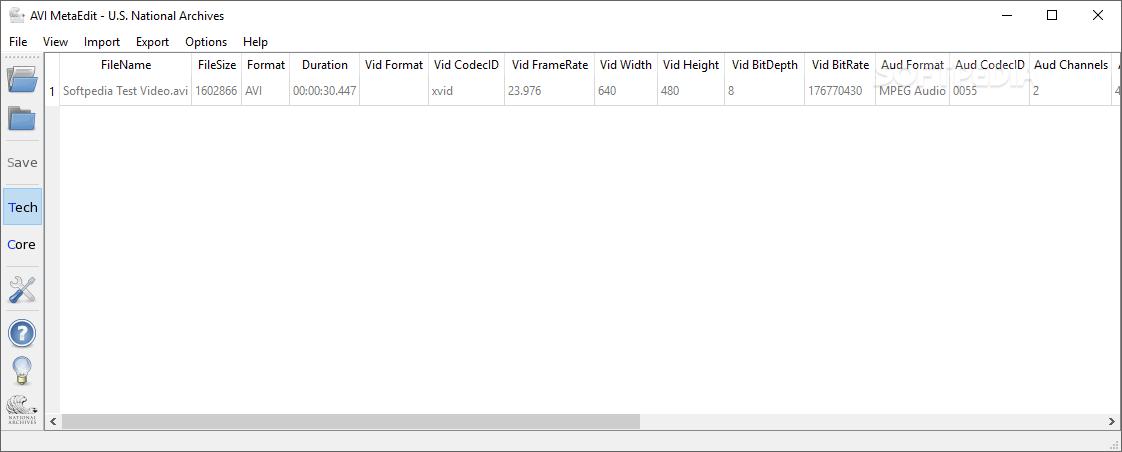 Download AVI MetaEdit 1 0 2