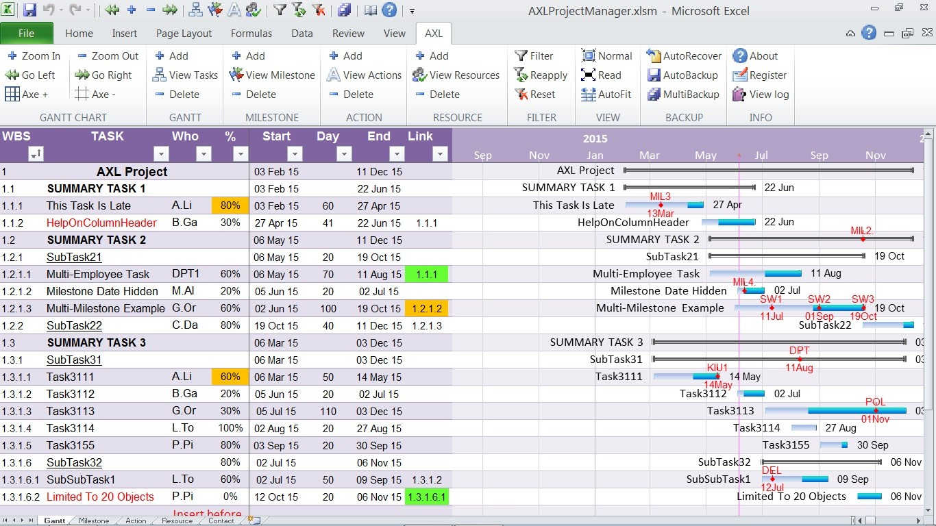 download axl project manager 1 0 2