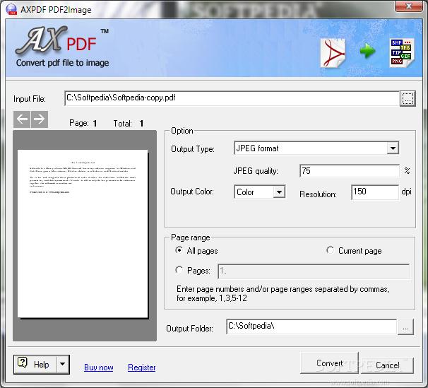 Download AXPDF PDF2Image 2 11