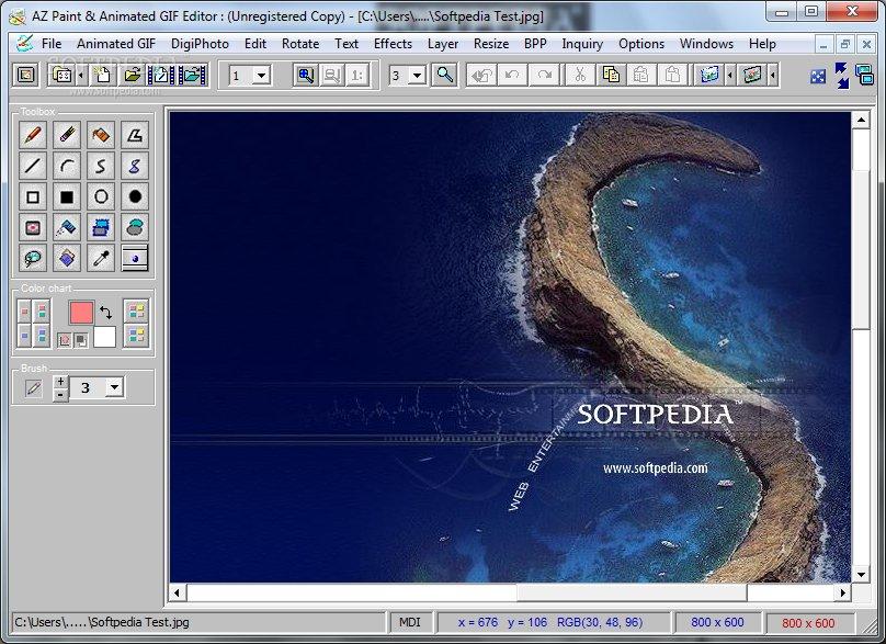Download Az Paint Animated Gif Editor 7 8 0
