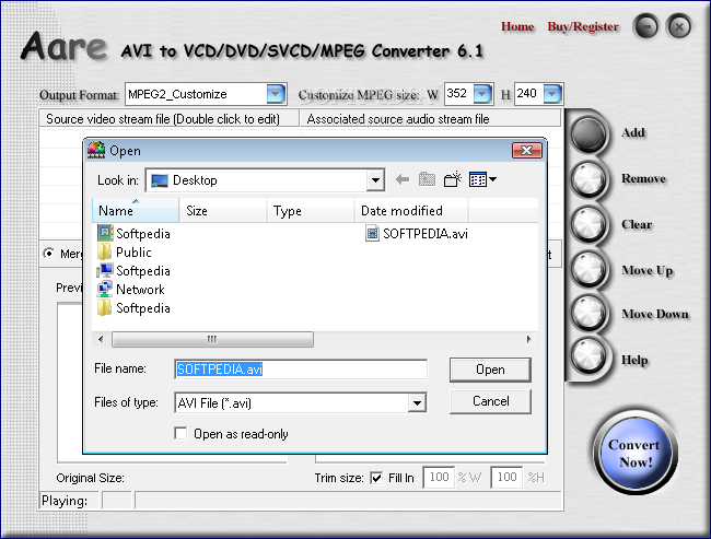 Download amor wmv to avi mpeg vcd dvd converter 2. 8. 8. 2.