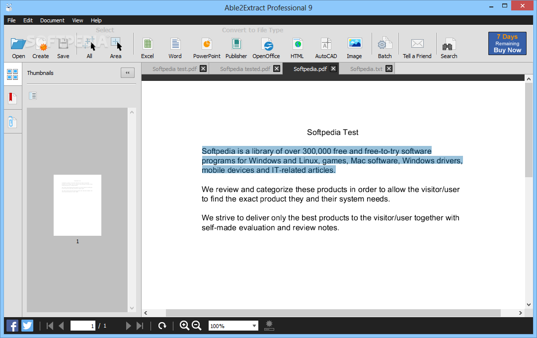 how to extract a page from a pdf file