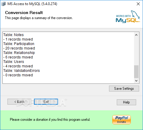 mysql 1 to many relationship in ms access