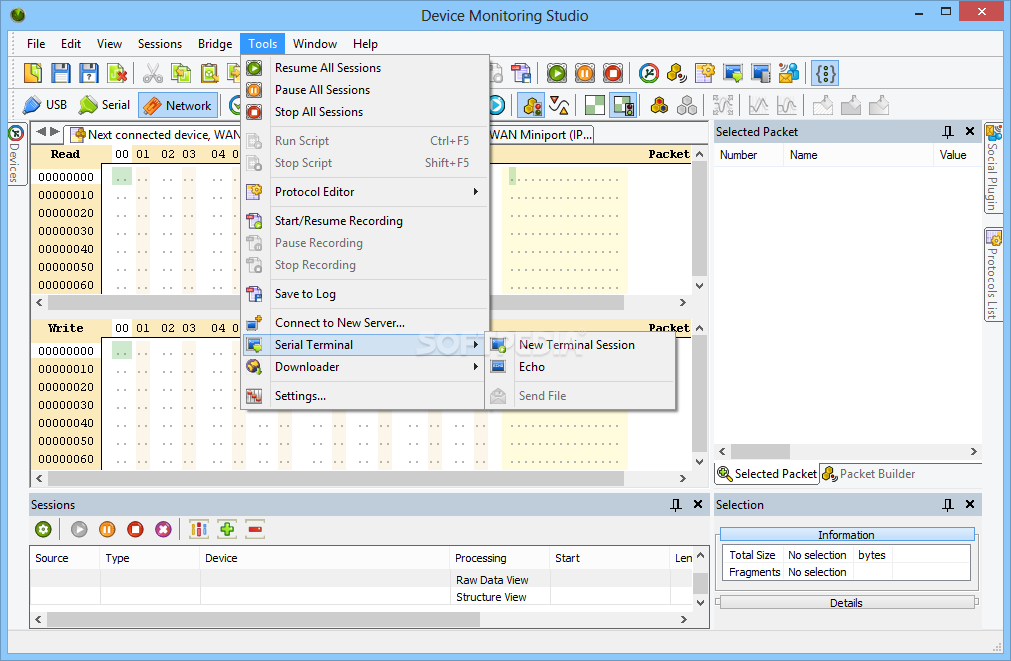 hhd software network monitor