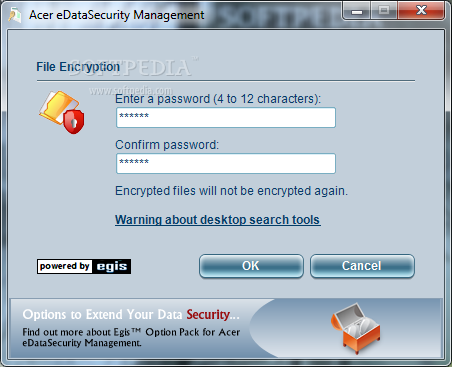 acer edatasecurity management