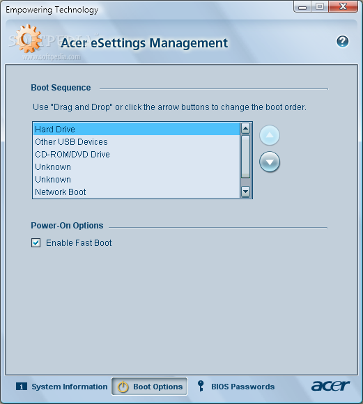 Download Acer eSettings Management 2 5 3004