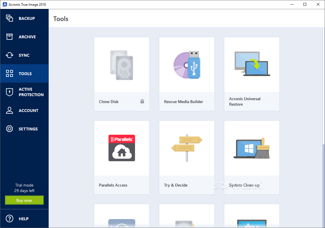acronis true image free download windows 10