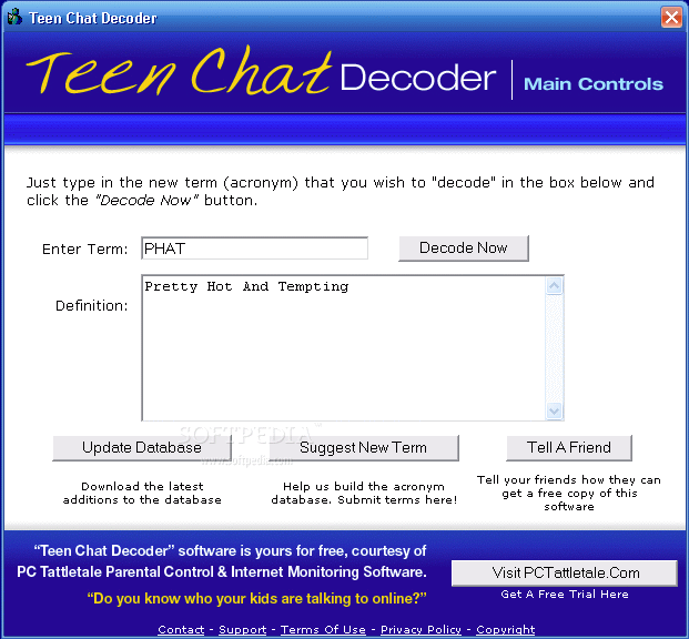International teen chat room acronyms