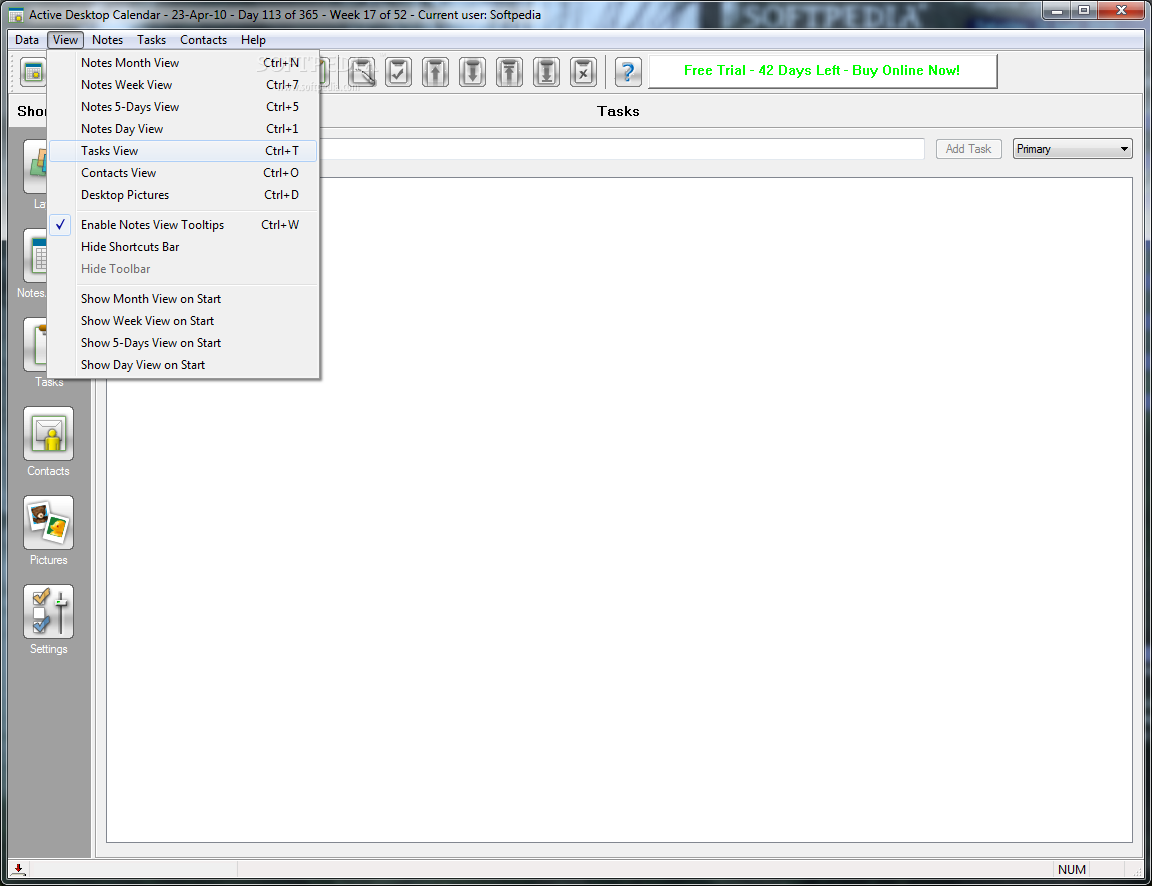 organizer pro free download