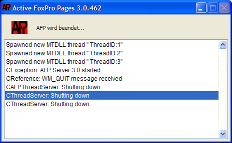 Download Active FoxPro Pages 3 0 585