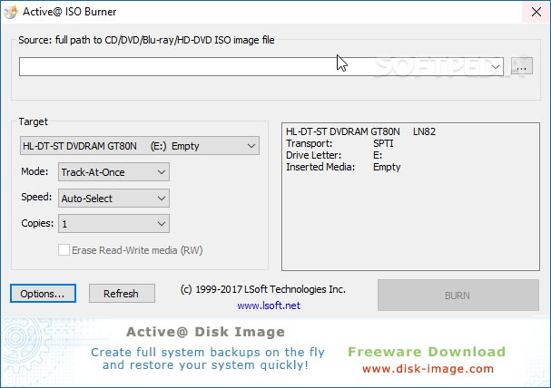 iso image burner software free download for windows 7