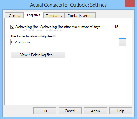 how to get outlook to use contacts