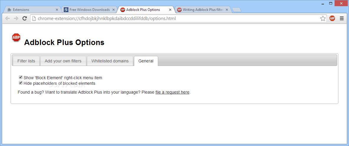Download Adblock Plus for Chrome 3 6 3