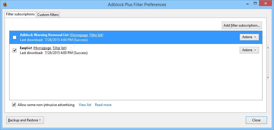 Download Adblock Plus for Firefox 3 6 3