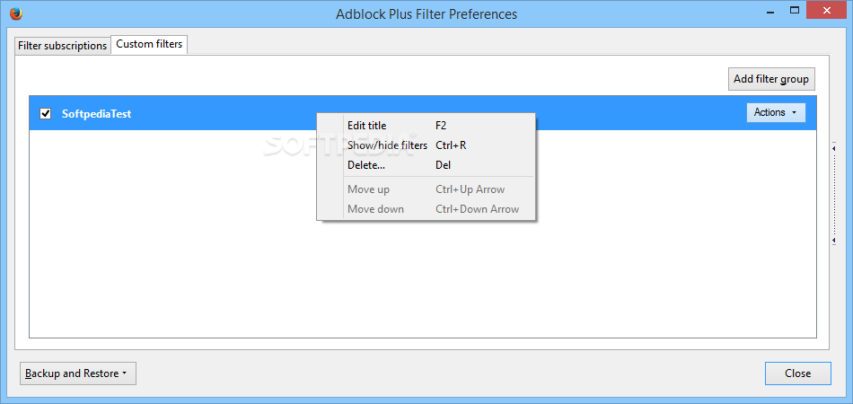 Download Adblock Plus for Firefox 3 6 3