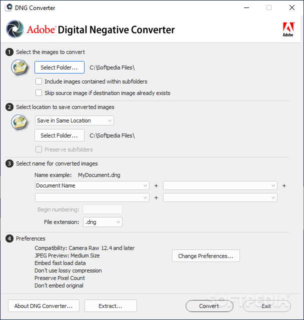 adobe dng converter for mac