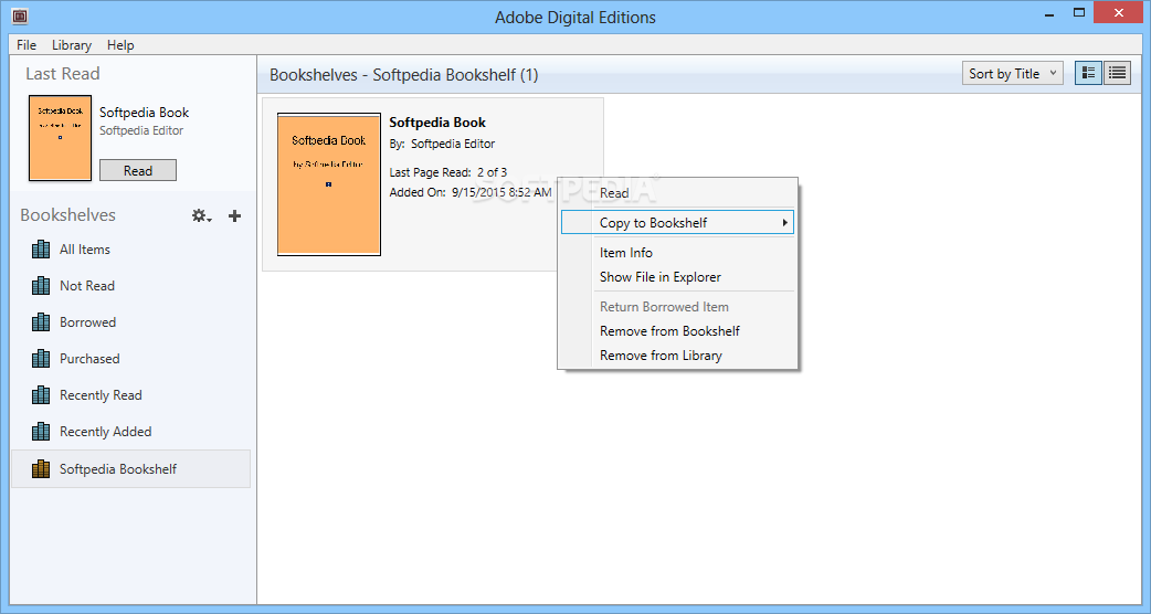 Adobe Digital Editions 4.5.8