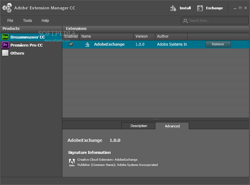 adobe extension manager cc