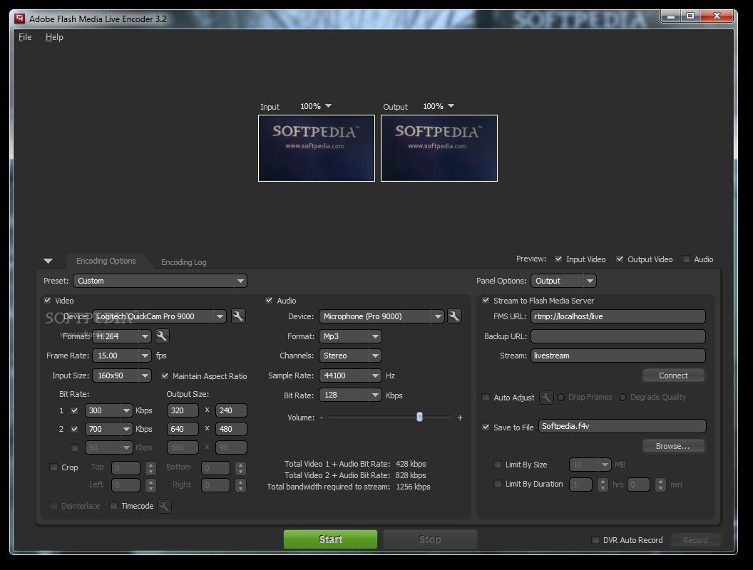 adobe flash media live encoder 3.2 free download mac