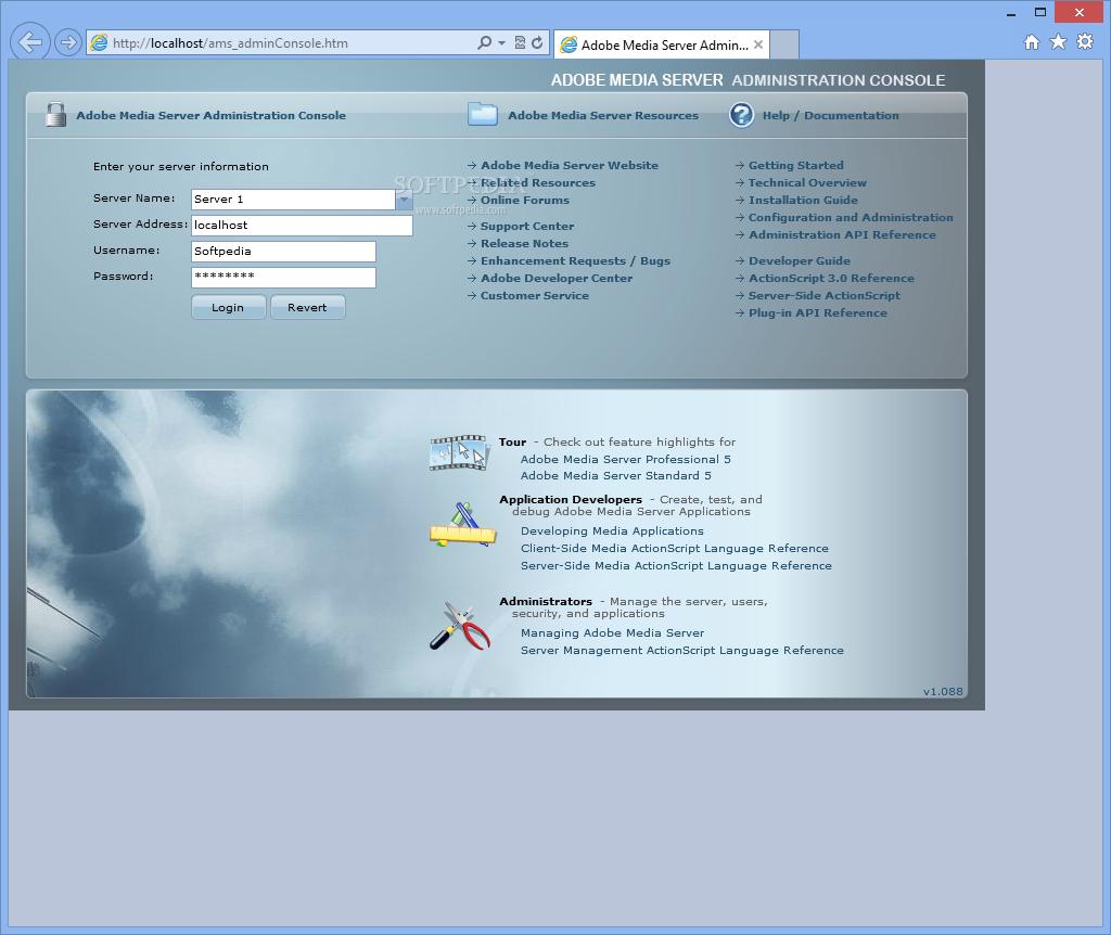 adobe flash media streaming server 4.5 free download