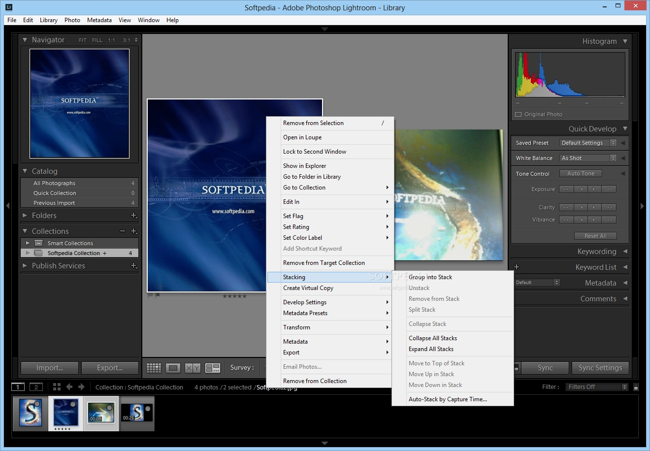 Adobe Photoshop Lightroom screenshot 1 - Adobe Photoshop Lightroom will help you simplify photography from shoot to finish
