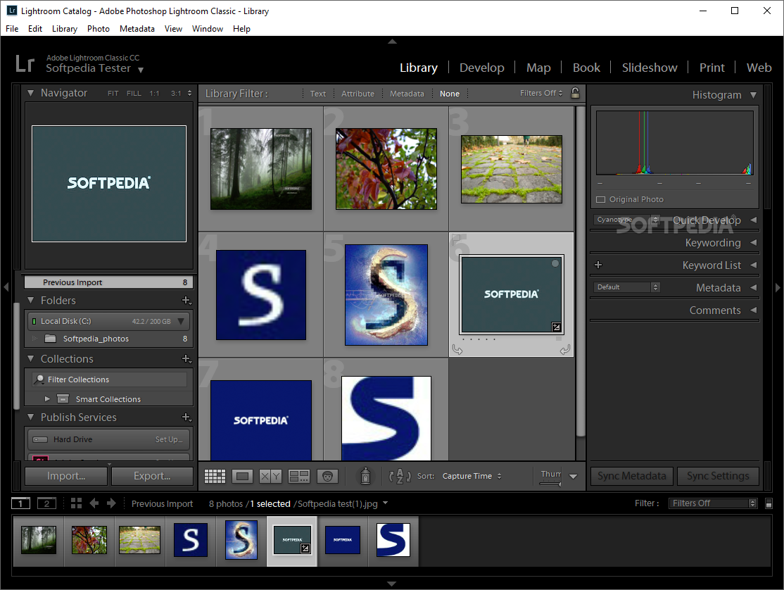 Adobe Photoshop Lightroom screenshot 3 - The Develop area will provide users with all the necessary tools to make the most of your photographs