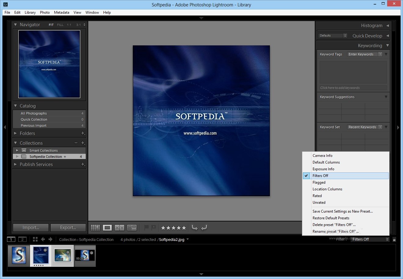 Adobe Photoshop Lightroom screenshot 4