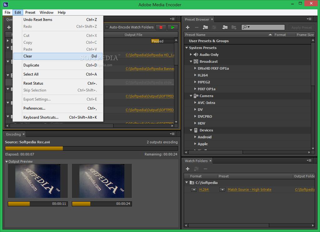 Deinterlace Footage Adobe Media Encoder Cc
