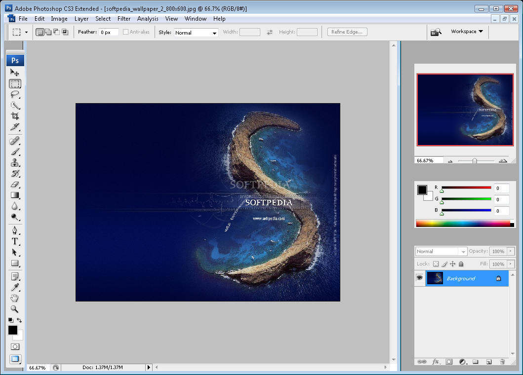 Download Adobe Photoshop CS3 Extended 10 0