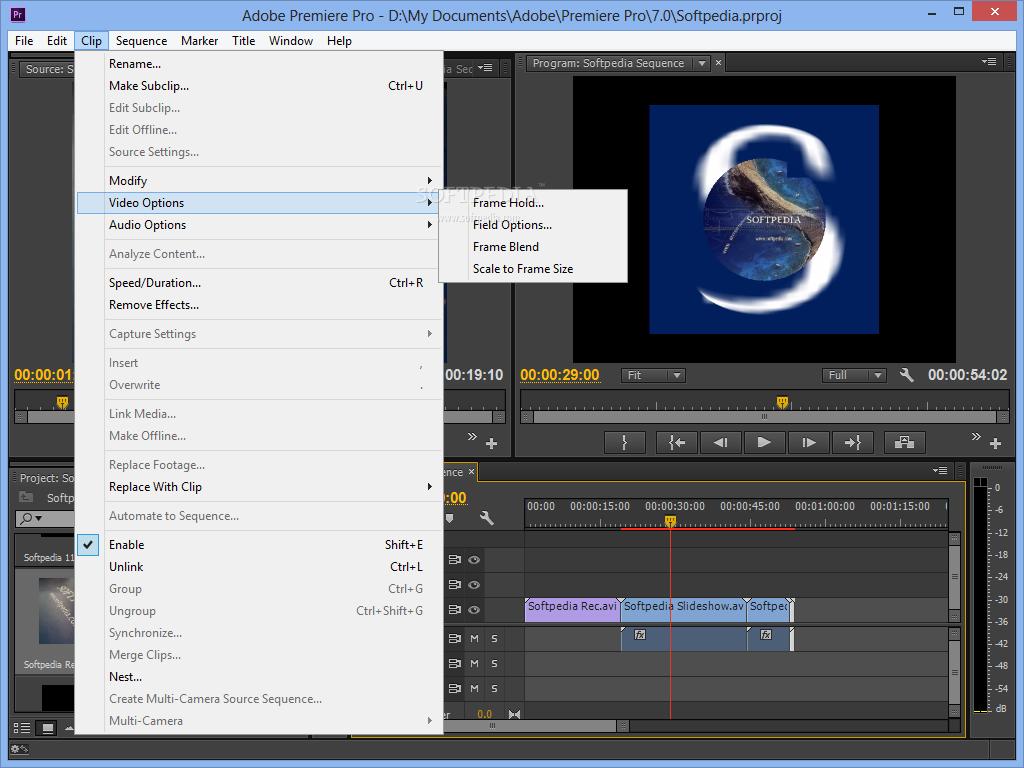 Adobe Premiere Pro 7.0