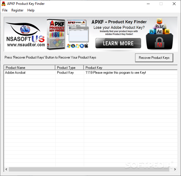 all antivirus product key finder 2016 v1.7​