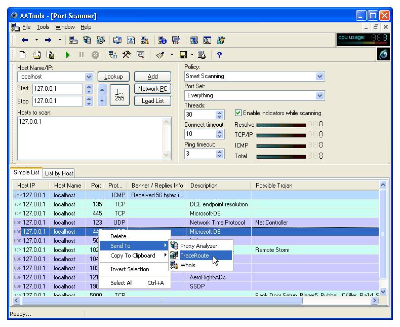 Download free port scanner majorgeeks.