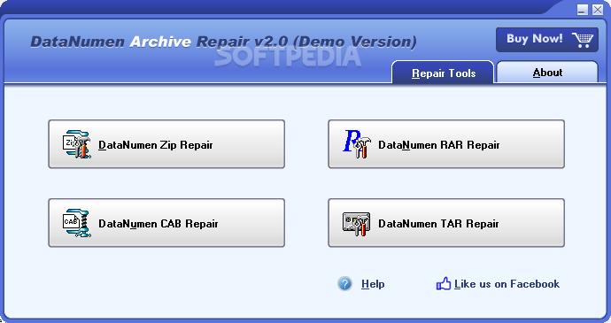 Download DataNumen Archive Repair 2 5