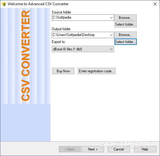 Advanced CSV Converter screenshot #0