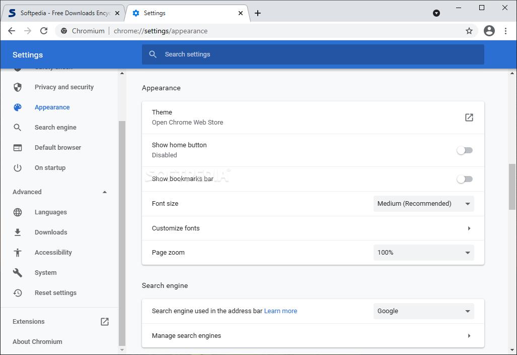 Download Advanced Chrome 74 0 3840 0