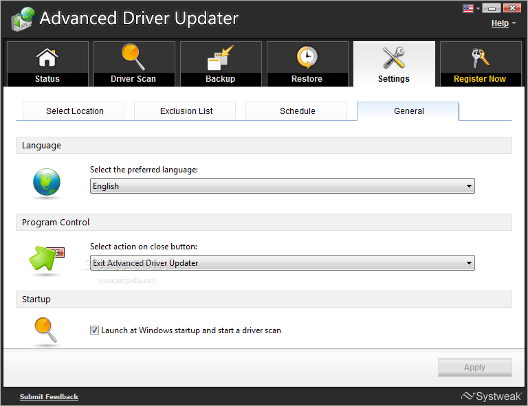 advanced driver updater key free