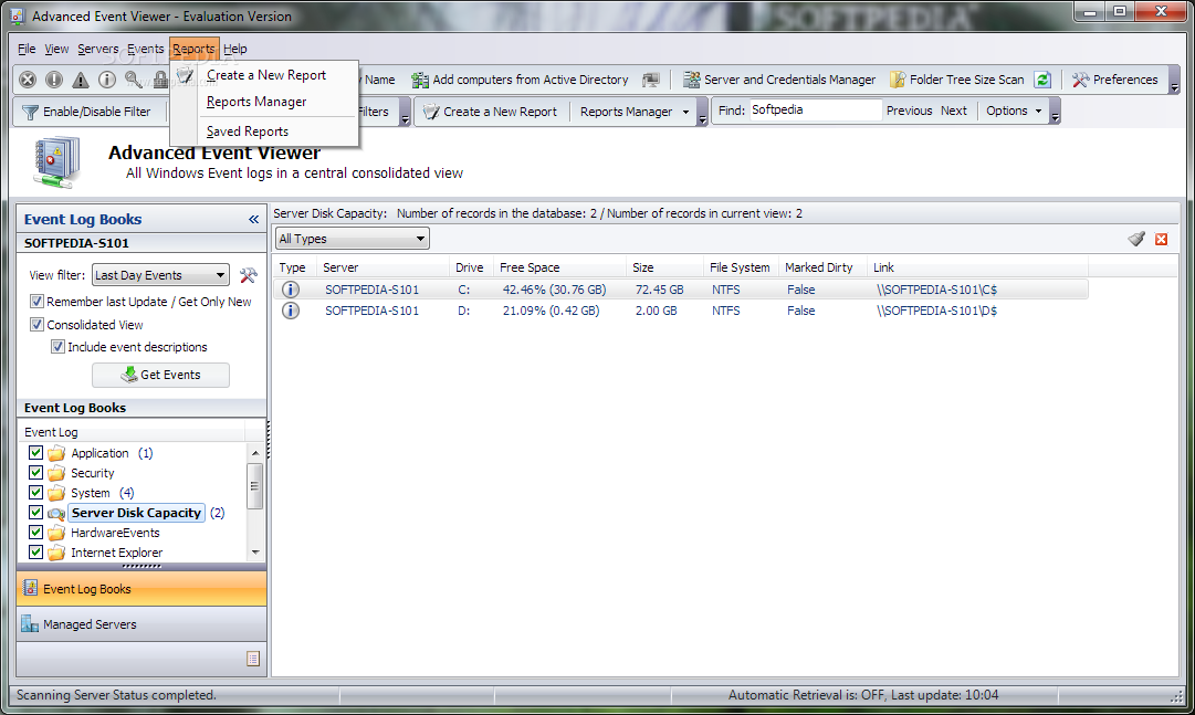 Download Advanced Event Viewer 2 3 3 Build 2770