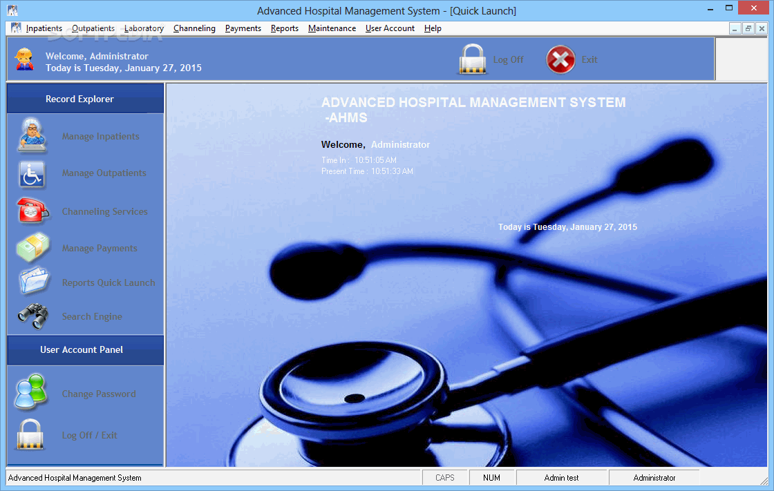 hospital management system Software architecture & c# programming projects for ₹100 - ₹400 this is complete erp software for eye hospital based in different location in delhi  this complete all requirement of client for inventory, pharmacy, opd billing, surgery billing, finance, store, pu.