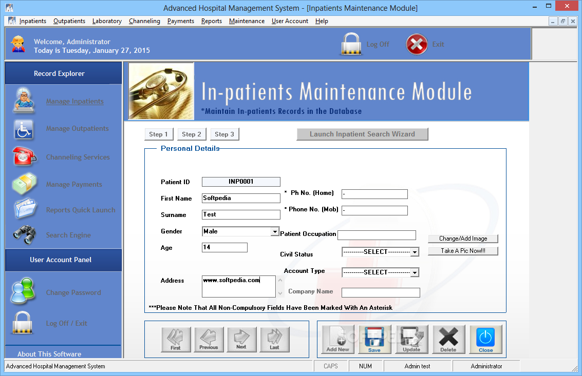 Download Advanced Hospital Management System 5 0 32