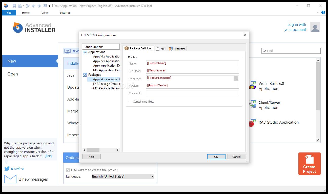 Download Advanced Installer 16 3