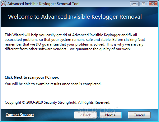 Keyloggers Removal