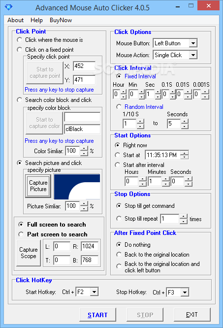 Download Advanced Mouse Auto Clicker 4 2 1