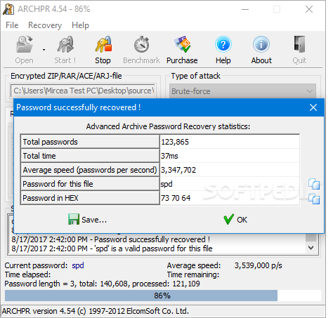 advanced archive password recovery 4.54 serial