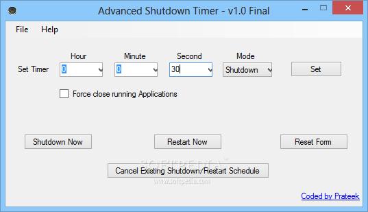 Download Advanced Shutdown Timer 1 5