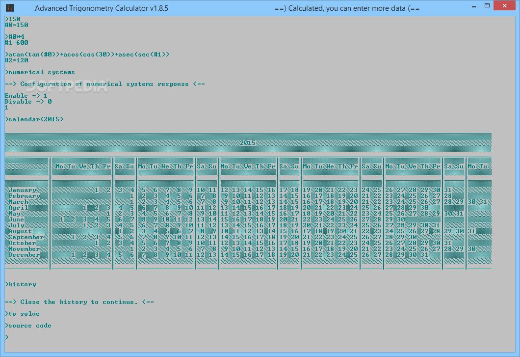 Resultado de imagen para Advanced Trigonometry Calculator 2