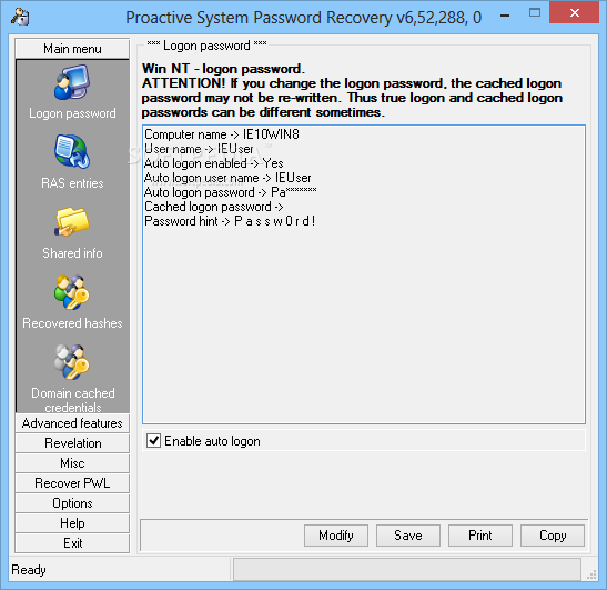 Download Proactive System Password Recovery 6 60 568 0
