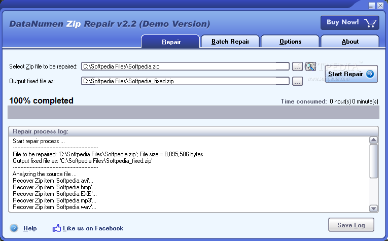 Download DataNumen Zip Repair 2 5 0 0