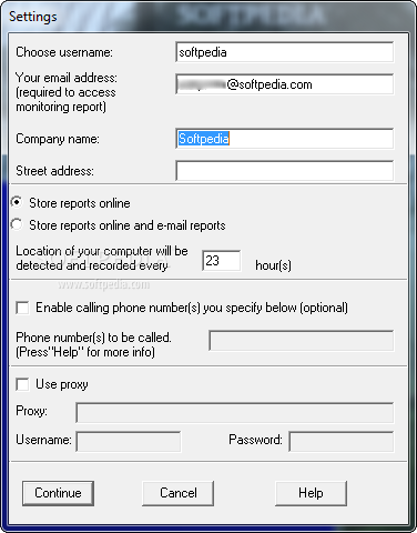 how to get an email address from a paltalk username